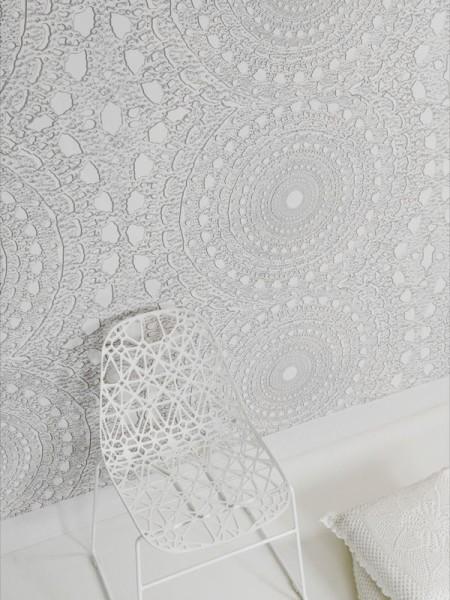 Пример внутренней отделки комнаты с помощью декоративной штукатурки