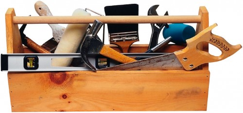 Примерный набор инструментов, которые вам могут понадобиться при выполнении ремонтных работ