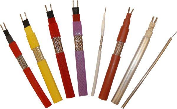 Примеры нагревательных кабелей