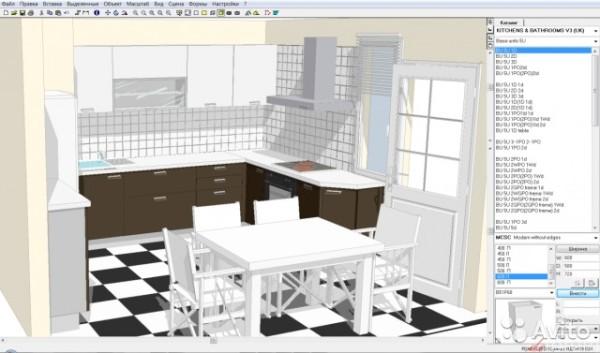 Проект, выполненный в программе Planner 5D