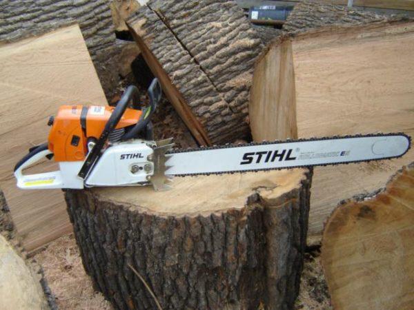 Профессиональный «Штиль» способен справиться с самыми серьёзными задачами по спиливанию деревьев