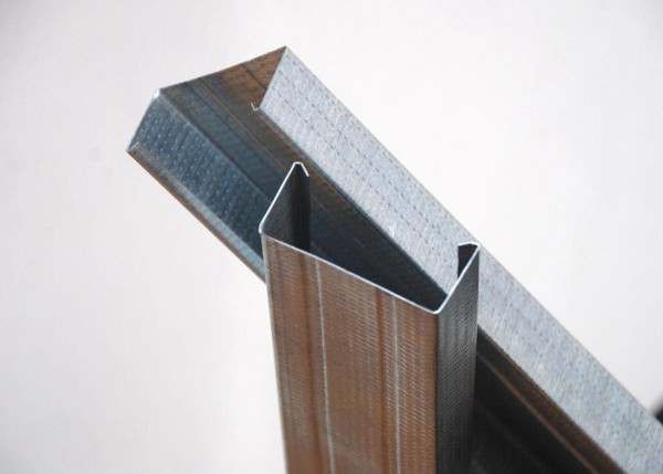 Профиль позволяет создать легкий и прочный каркас