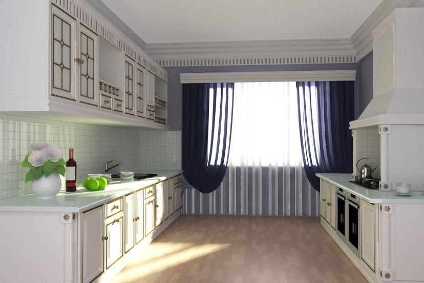 Простой дизайн кухни