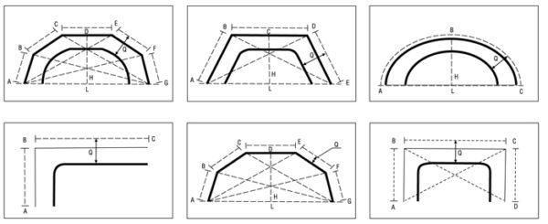 Разнообразие форм карнизов для ниши