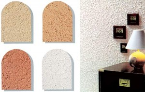 Разновидности декоративной штукатурки