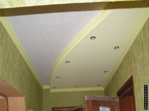 Ремонт потолка после протечки