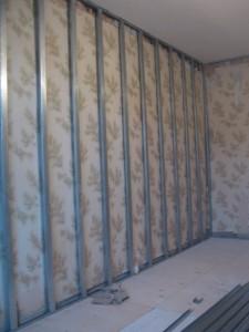 Ремонт стен гипсокартоном