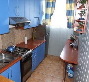 Ремонт узкой кухни