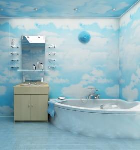 Ремонт ванной комнаты панелями пвх