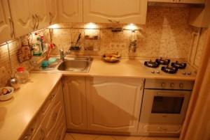 Ремонт хрущевской кухни