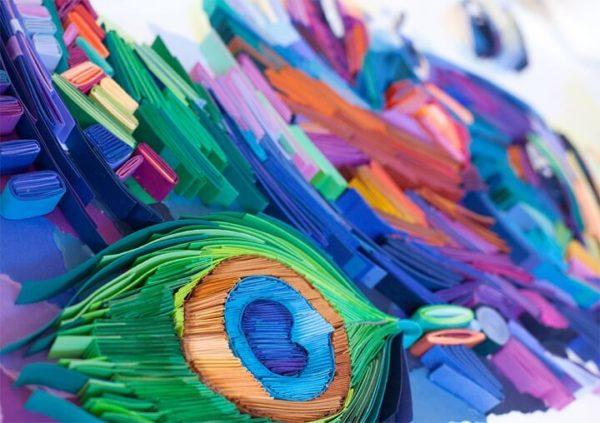 С помощью обычной бумаги можно своими руками создавать настоящие произведения искусства