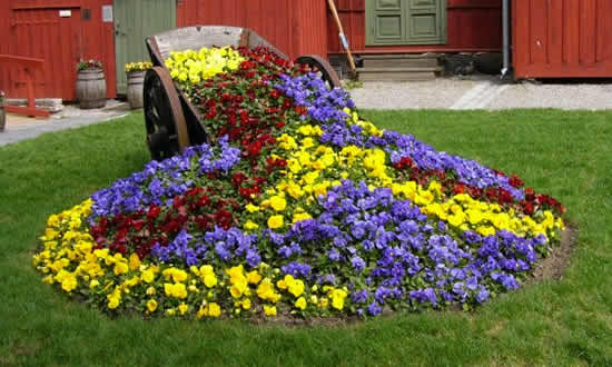 садовый дизайн на даче