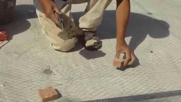 Сетка делает раствор устойчивым к образованию трещин