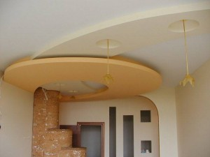 Школа ремонта потолки из гипсокартона