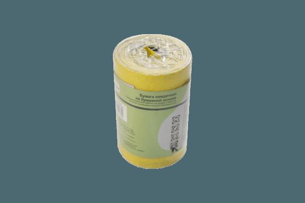 Шкурка на обычной бумаге предназначена для сухой шлифовки поверхностей.