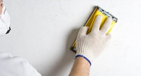 Шлифовка позволяет быстро удалить все изъяны нанесения