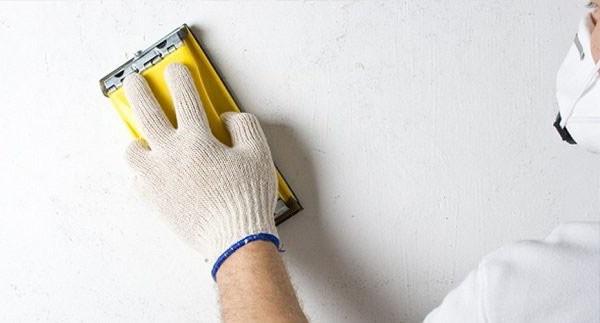 Шлифовка позволяет удалить все мелкие изъяны на поверхности