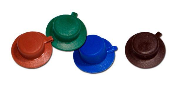 Шляпки для крепежей следует приобретать отдельно