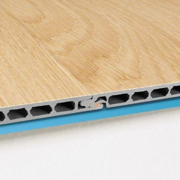Соединение водостойких панелей делают покрытие почти бесшовным