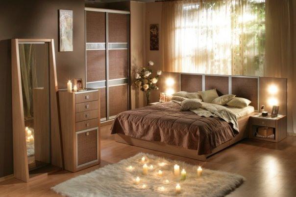 Современный дизайн спальни для небольшого пространства