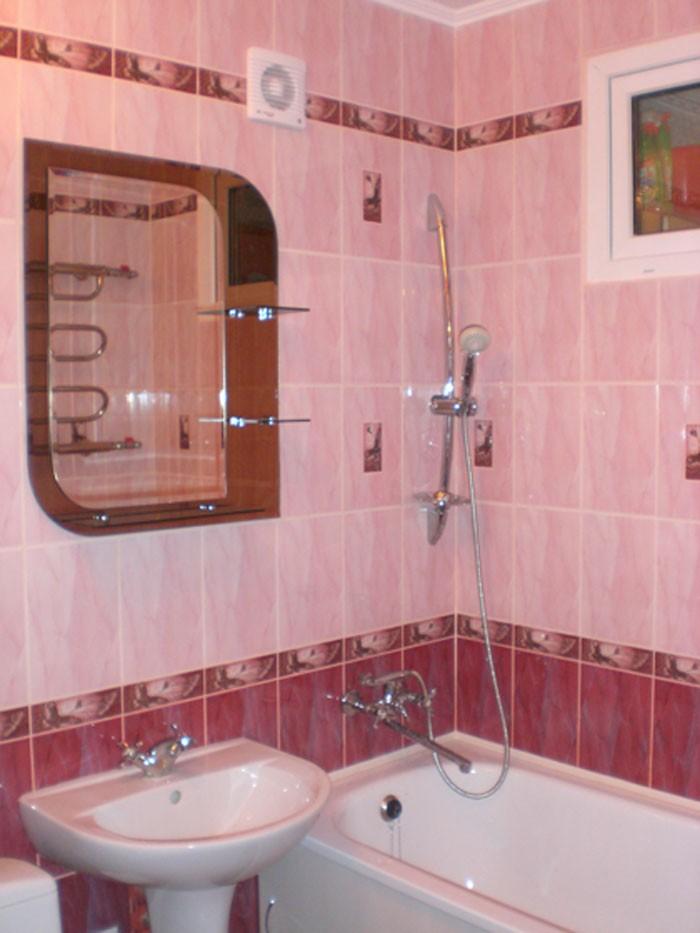Современный интерьер ванной комнаты