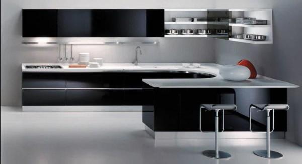 Современный дизайн кухни в стиле минимализм