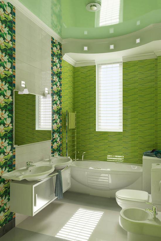 создать дизайн ванной комнаты