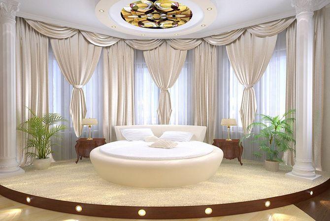 Спальня гостиная интерьер