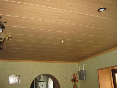 Сплошной потолок.