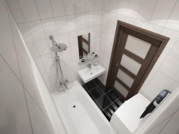 Строгие линии и глянцевые поверхности — характерные черты стиля хай-тек