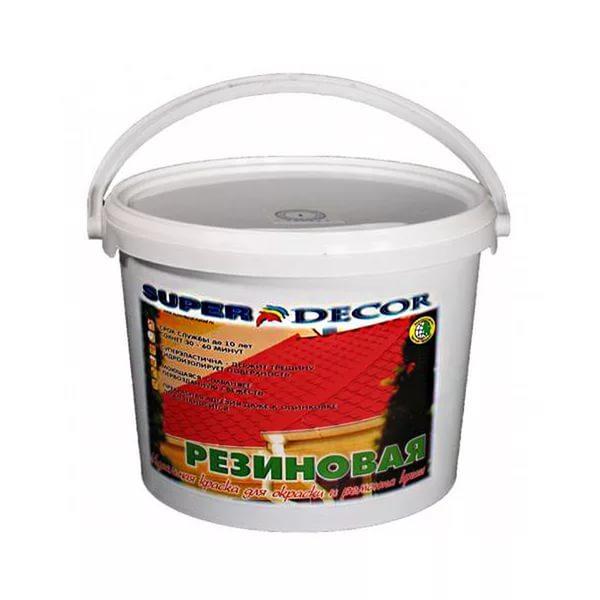 Super Decor — недорогой и качественный лакокрасочный материал от отечественного производителя
