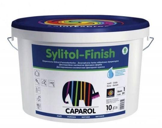 Sylitol-Finish — долговечная силикатная краска от финского производителя Caparol