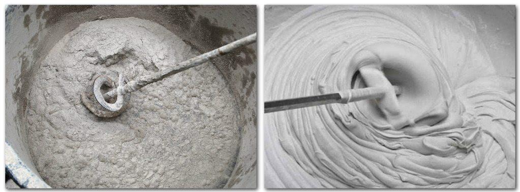 цементно известковый раствор применение