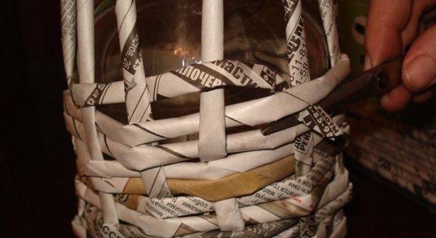 table_pic_att149316966723-e1493170072148 Плетение из газетных трубочек для начинающих пошагово: техника плетения, мастер класс, фото. Плетение корзин, шкатулок, коробок из газет для начинающих: схемы, загибы, фото