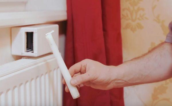 Так проверяется эффективность работы стенового вентиляционного клапана