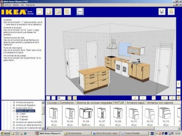 Так выглядит интерфейс конструктора IKEA Home Planner.