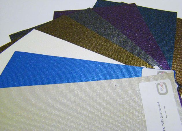 Тканевое полотно может быть разных цветов