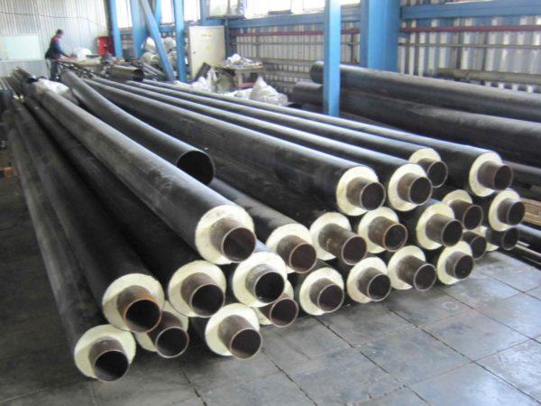 Трубы с предустановленной теплоизоляцией используются при прокладке магистральных водопроводов