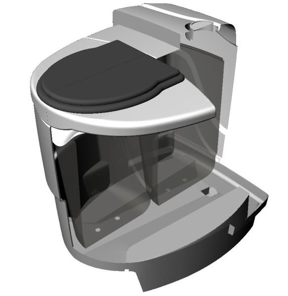 Устройство модели «Дуоматик» с двумя резервуарами