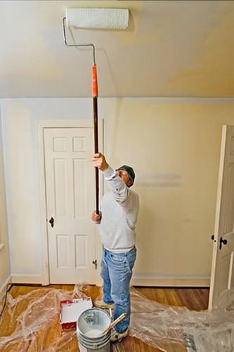 В качестве отделки, ГКЛ можно покрасить.