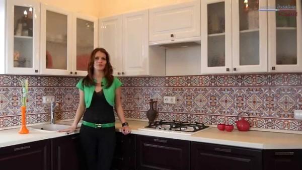 В комфортабельной и уютной кухне так хочется заниматься кулинарией.