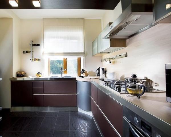 В красиво и правильно оформленной кухне гораздо приятнее находиться