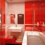 Вариант ремонта ванной комнаты