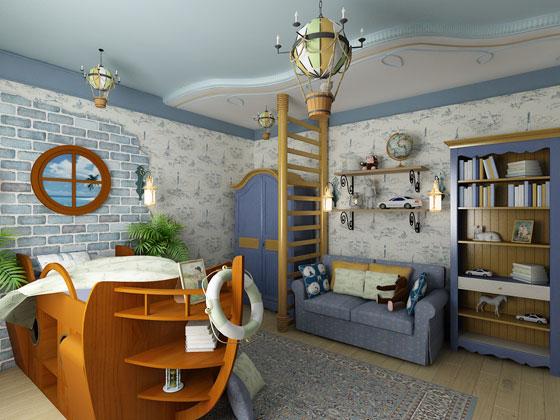 Варианты дизайна детской комнаты