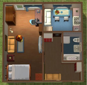 Варианты ремонта однокомнатной квартиры