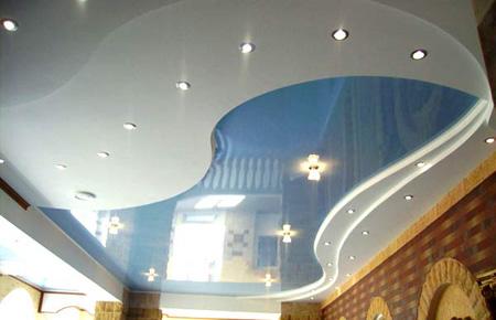 Визуальное увеличение высоты потолка