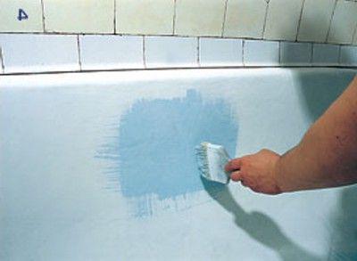 Восстановление эмали ванной