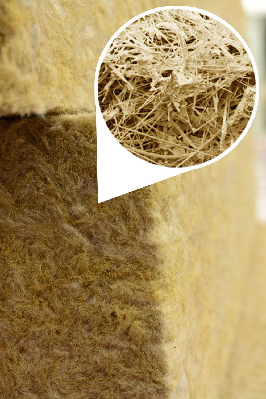 Воздушные прослойки между волокнами обеспечивают высокие теплоизоляционные свойства