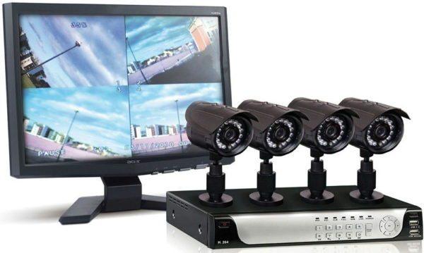 Вы можете поставить сколько угодно камер видеонаблюдения, все зависит от ваших запросов