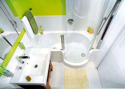 Завершенный ремонт санузла (ванна совмещена с душевой кабиной)